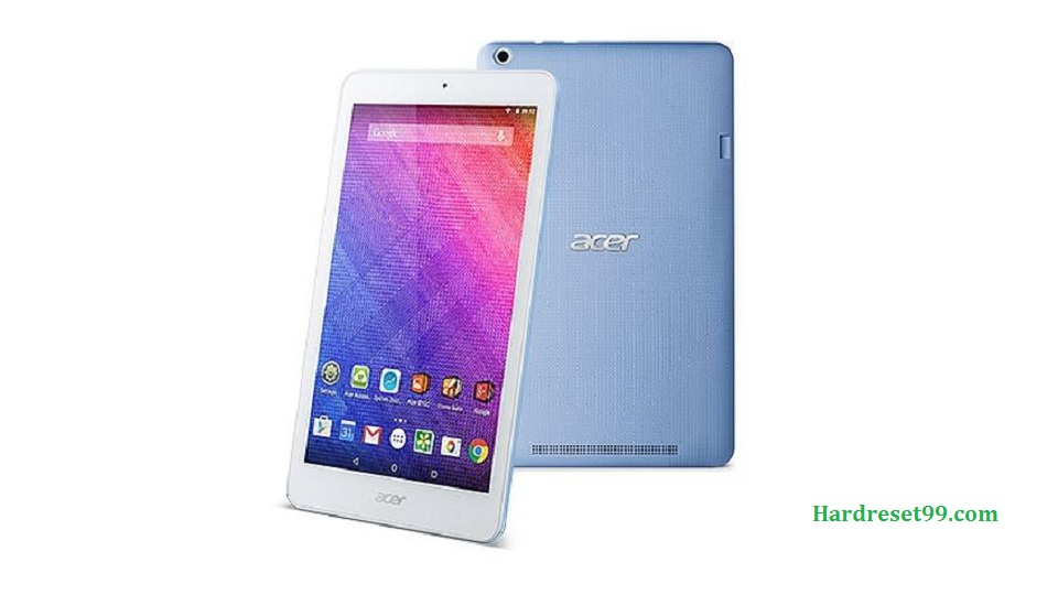 ACER B1-820 Iconia One 8 Hard reset, Factory Reset and Password Recovery