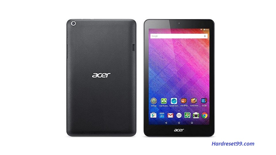ACER B1-830 Iconia One 8 Hard reset, Factory Reset and Password Recovery