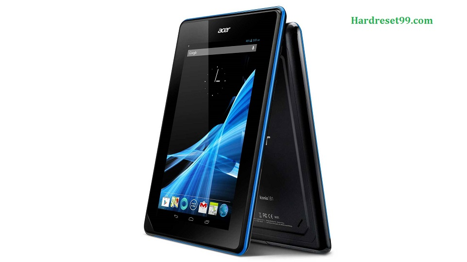 ACER B1-A71 Iconia Tab Hard reset, Factory Reset and Password Recovery