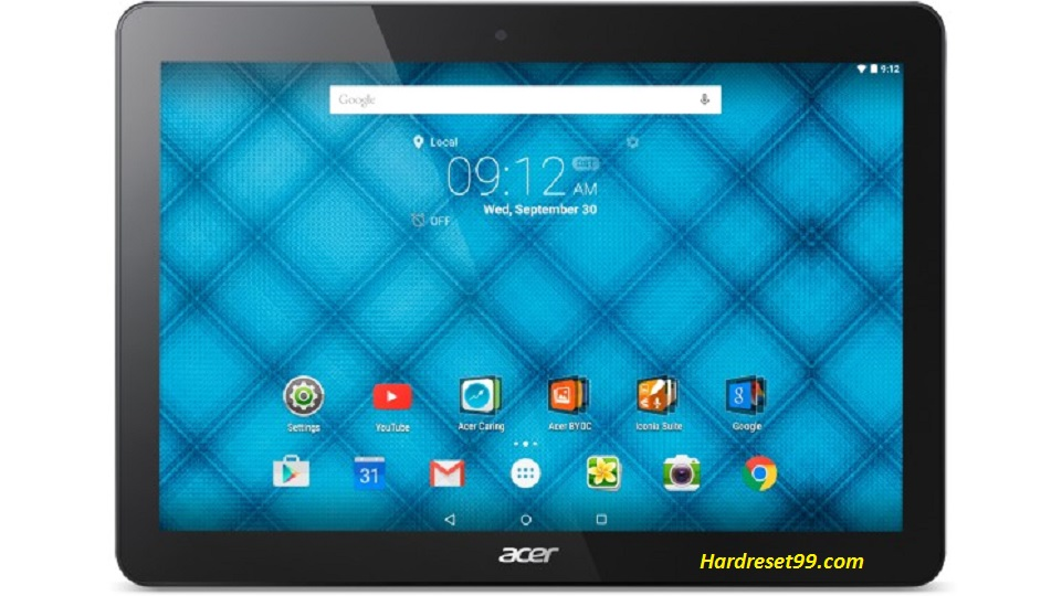 ACER B3-A10 Iconia One 10 Hard reset, Factory Reset and Password Recovery