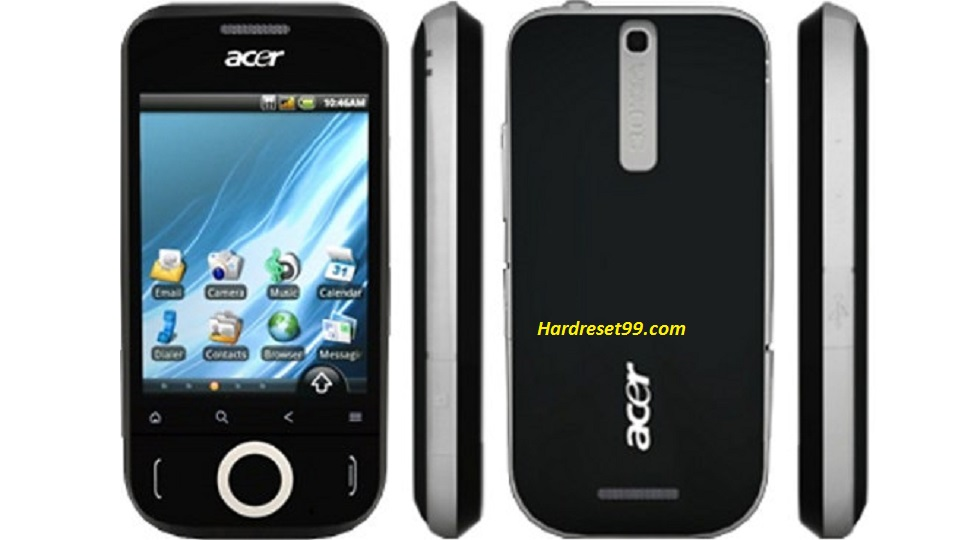 ACER E110 beTouch Hard reset, Factory Reset and Password Recovery