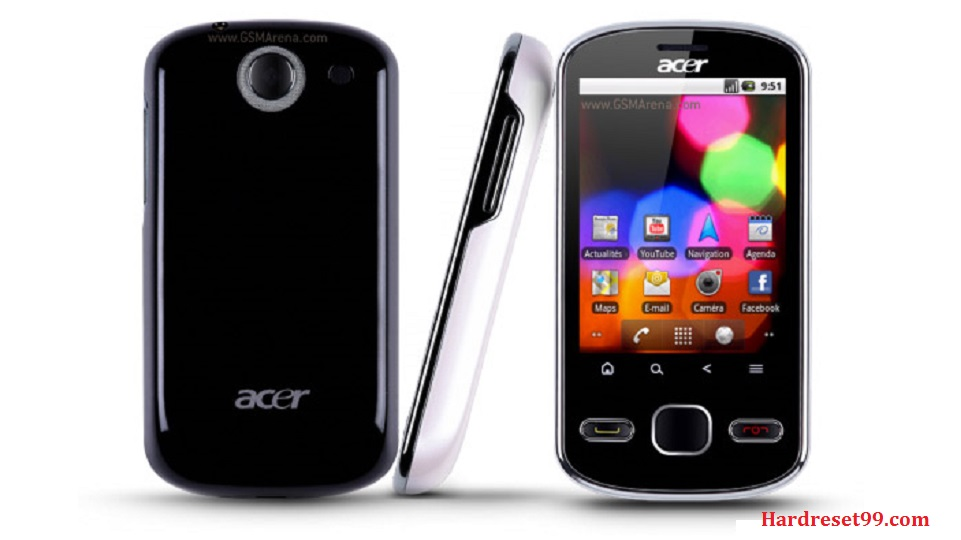 ACER E140 beTouch Hard reset, Factory Reset and Password Recovery