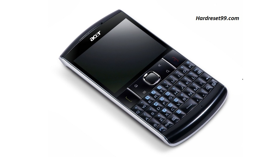 ACER E210 beTouch Hard reset, Factory Reset and Password Recovery