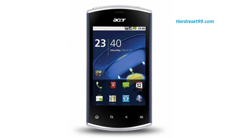 ACER E310 Liquid mini Hard reset, Factory Reset and Password Recovery