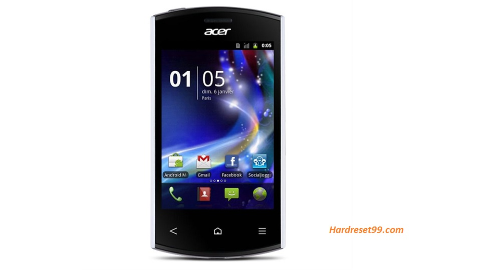 ACER E320 Liquid Express Hard reset, Factory Reset and Password Recovery