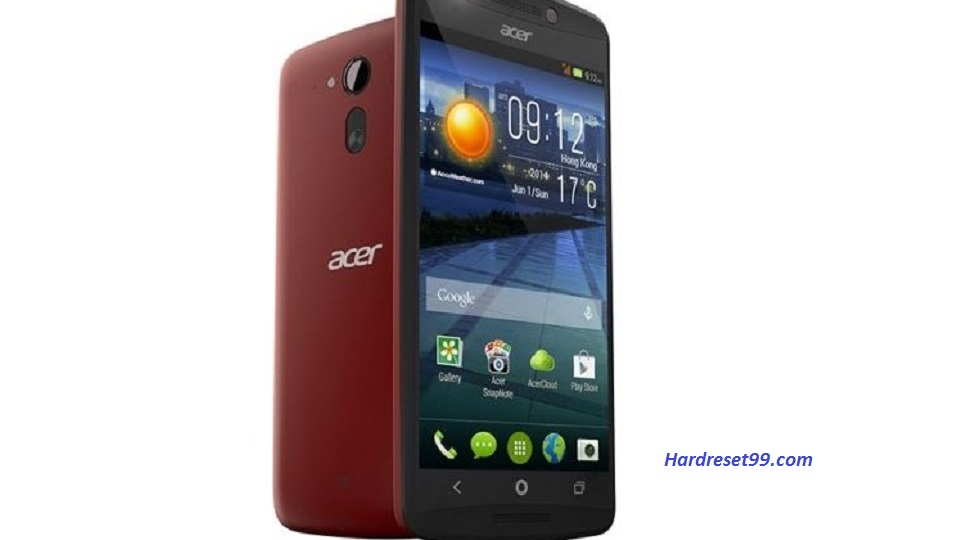 ACER E600 Liquid Hard reset, Factory Reset and Password Recovery