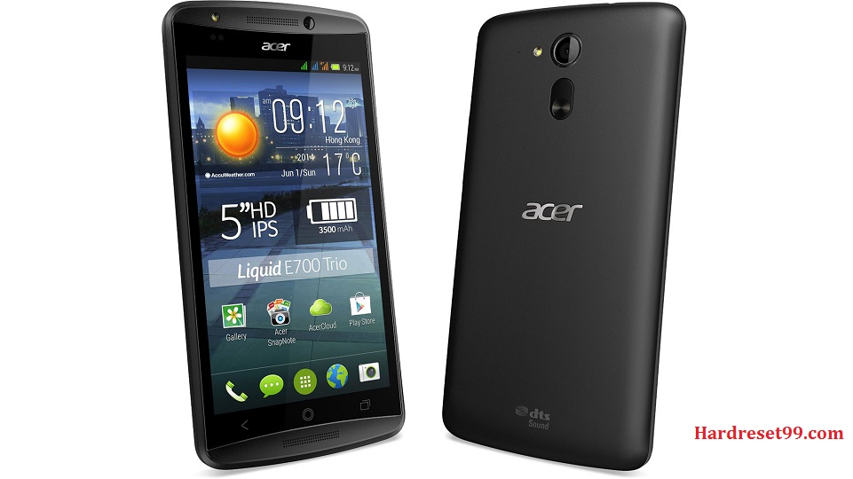 ACER E700 Liquid Hard reset, Factory Reset and Password Recovery