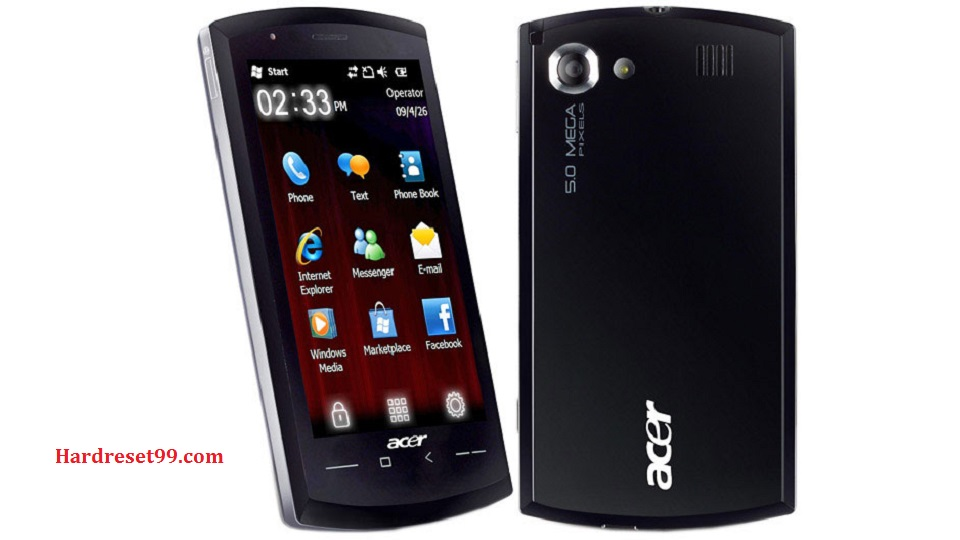ACER F1 Hard reset, Factory Reset and Password Recovery