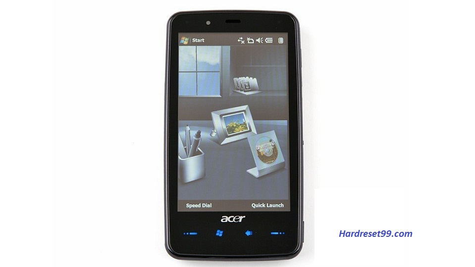 ACER F900 Hard reset, Factory Reset and Password Recovery