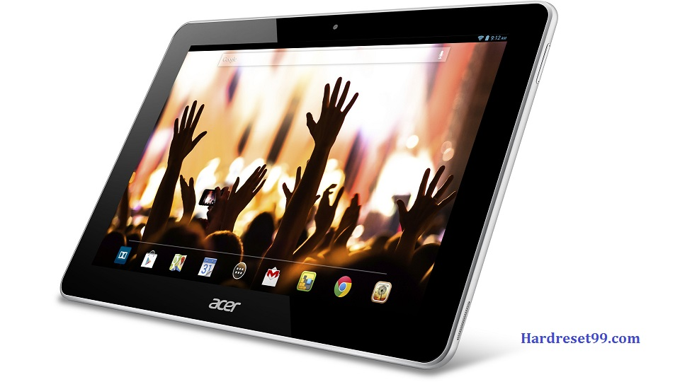 ACER Iconia A3-A10 Tab Hard reset, Factory Reset and Password Recovery