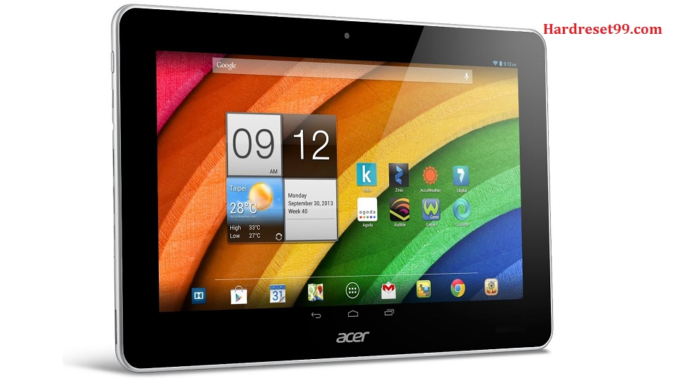 ACER Iconia A3-A11 3G Hard reset, Factory Reset and Password Recovery