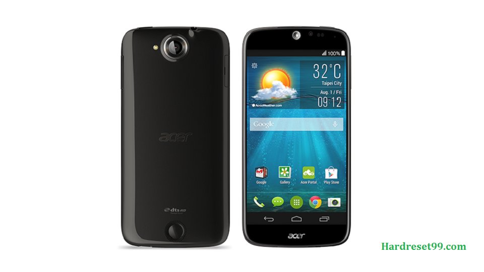 ACER Liquid Jade Hard reset, Factory Reset and Password Recovery
