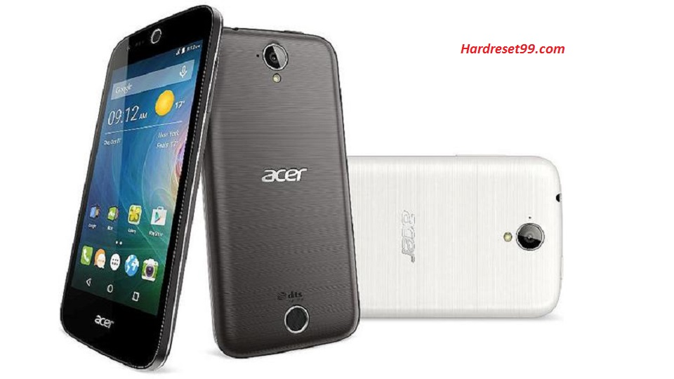 ACER Liquid Z320 Hard reset, Factory Reset and Password Recovery