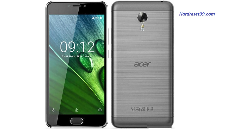 ACER Liquid Z6 Plus Hard reset, Factory Reset and Password Recovery