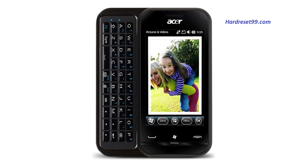 ACER P300 neoTouch Hard reset, Factory Reset and Password Recovery