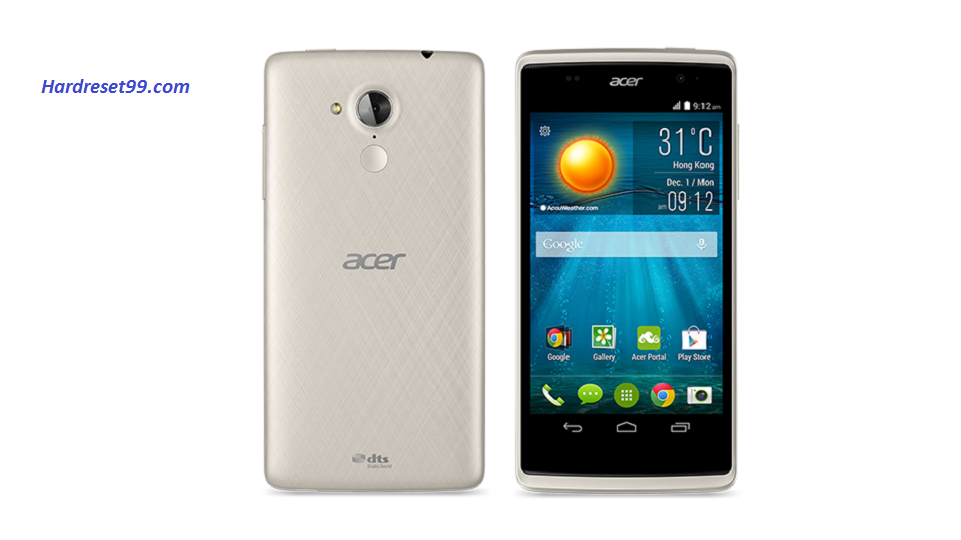 ACER Z500 Liquid Hard reset, Factory Reset and Password Recovery