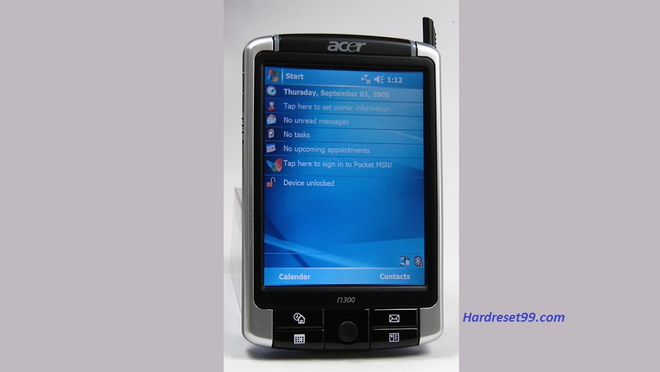 ACER n310 Hard reset, Factory Reset and Password Recovery
