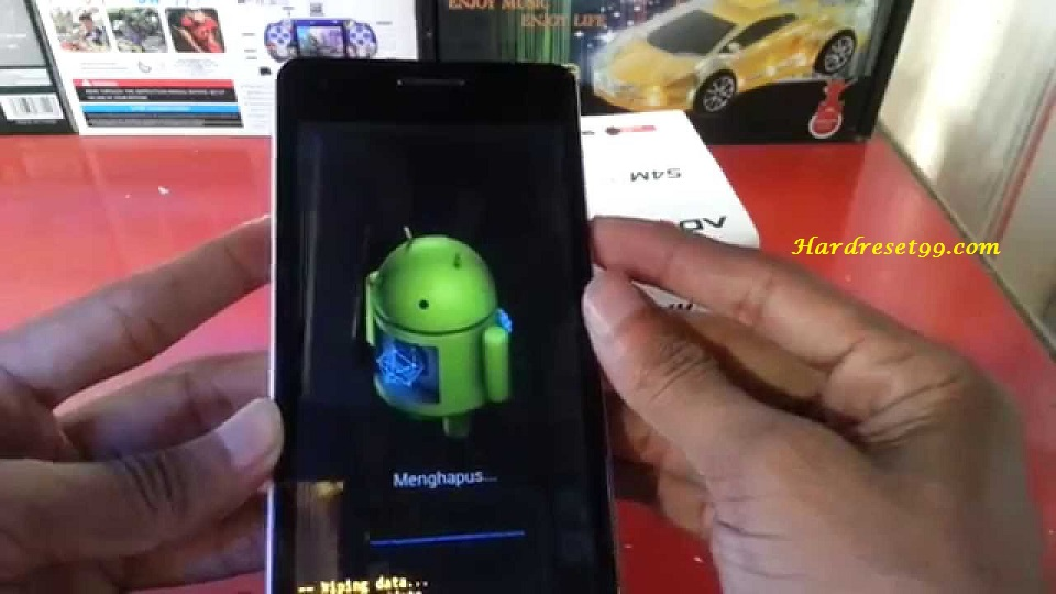 ADVAN Vandroid S5H Hard reset - How To Factory Reset