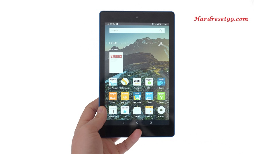 AMAZON Fire HD 8 Hard reset - How To Factory Reset