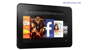 AMAZON Kindle Fire HD 8.9 4G LTE Hard reset - How To Factory Reset