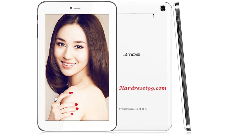 AMPE A72 Hard reset - How To Factory Reset
