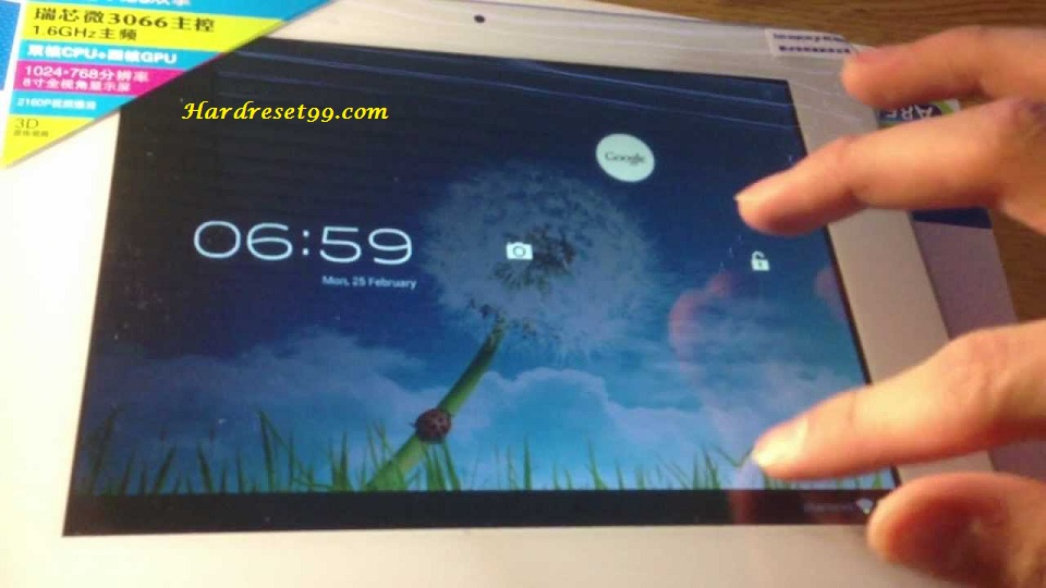 AMPE A85 Fashion Edition Hard reset - How To Factory Reset