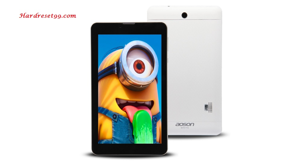 AOSON M701TG Hard reset - How To Factory Reset