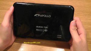 APOLLO Quicki 1034 Hard reset - How To Factory Reset