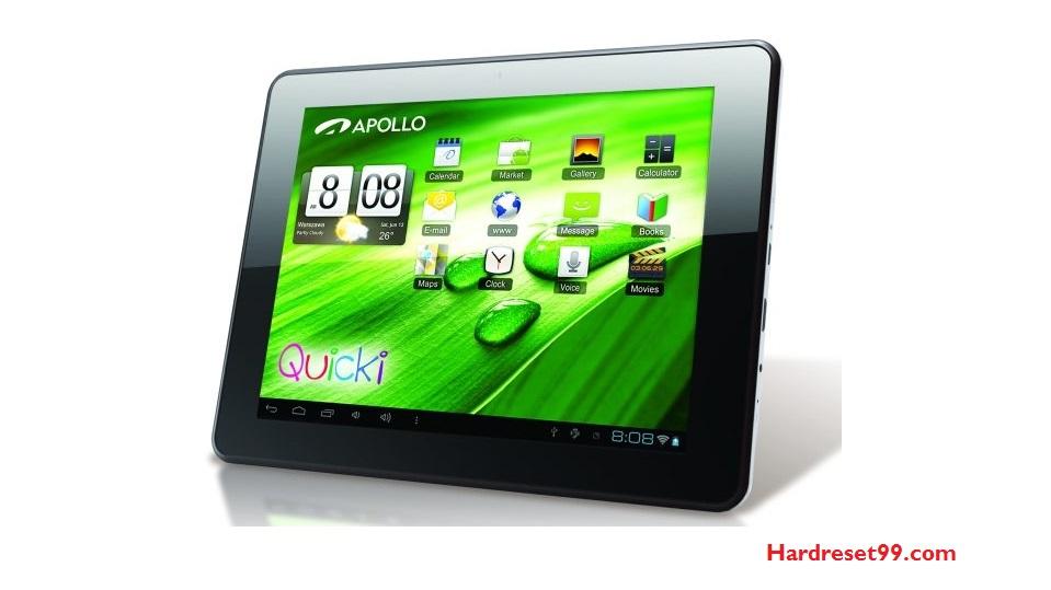 APOLLO Quicki 726 Hard reset - How To Factory Reset