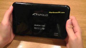 APOLLO Quicki 731 Hard reset - How To Factory Reset