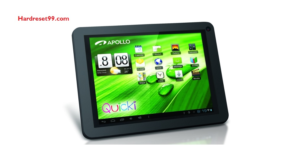 APOLLO Quicki 801 Hard reset - How To Factory Reset