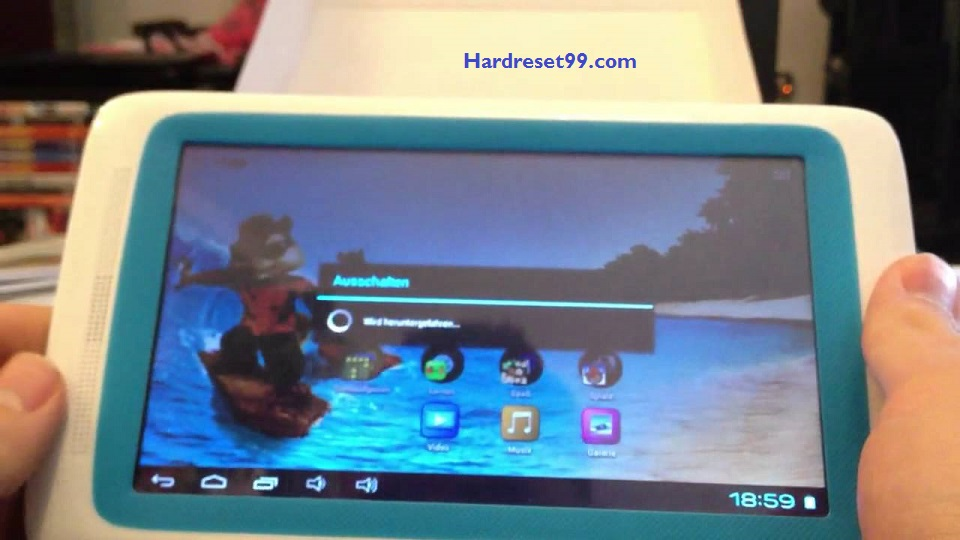 ARNOVA ChildPad Hard reset - How To Factory Reset