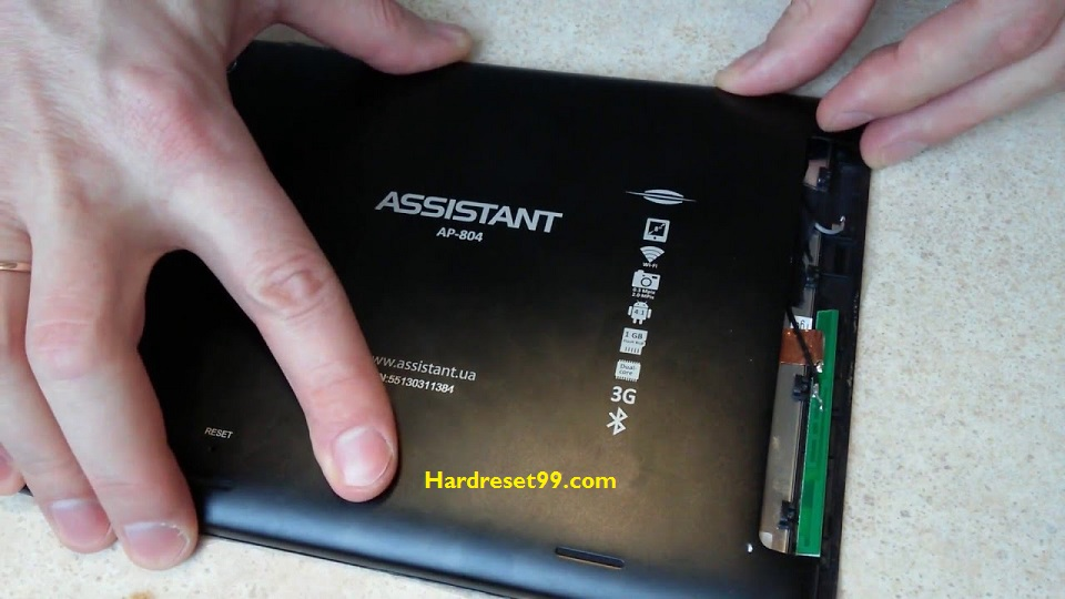 ASSISTANT AP-777G Hard reset - How To Factory Reset