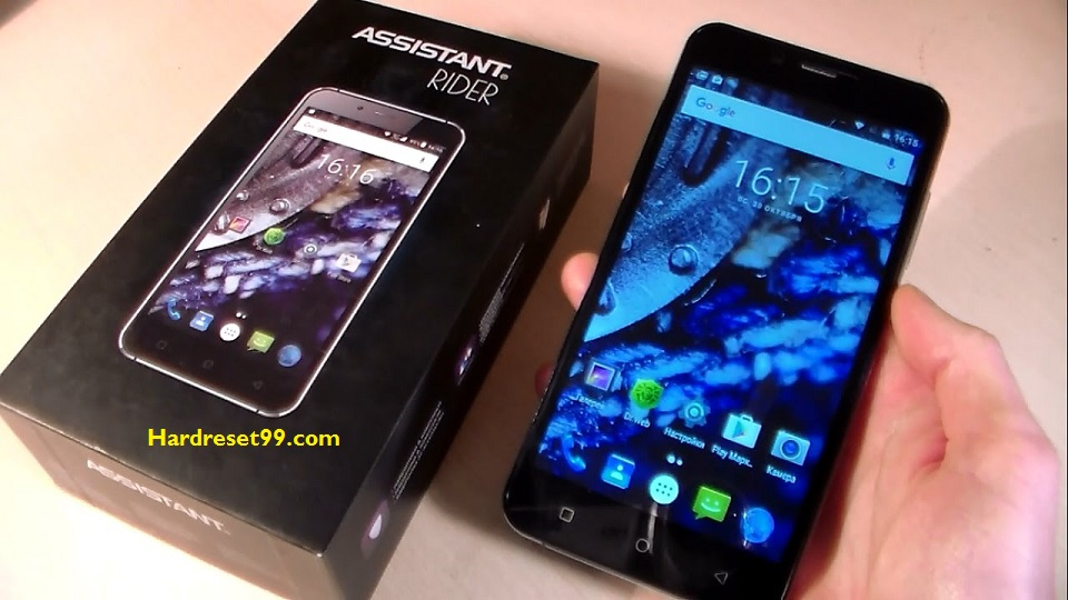 ASSISTANT AS-6431 Rider Hard reset - How To Factory Reset