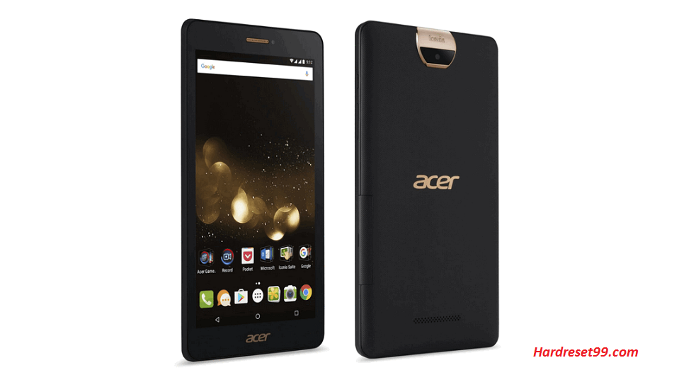 ACER A1-734 Iconia Talk S Hard reset, Factory Reset and Password Recovery
