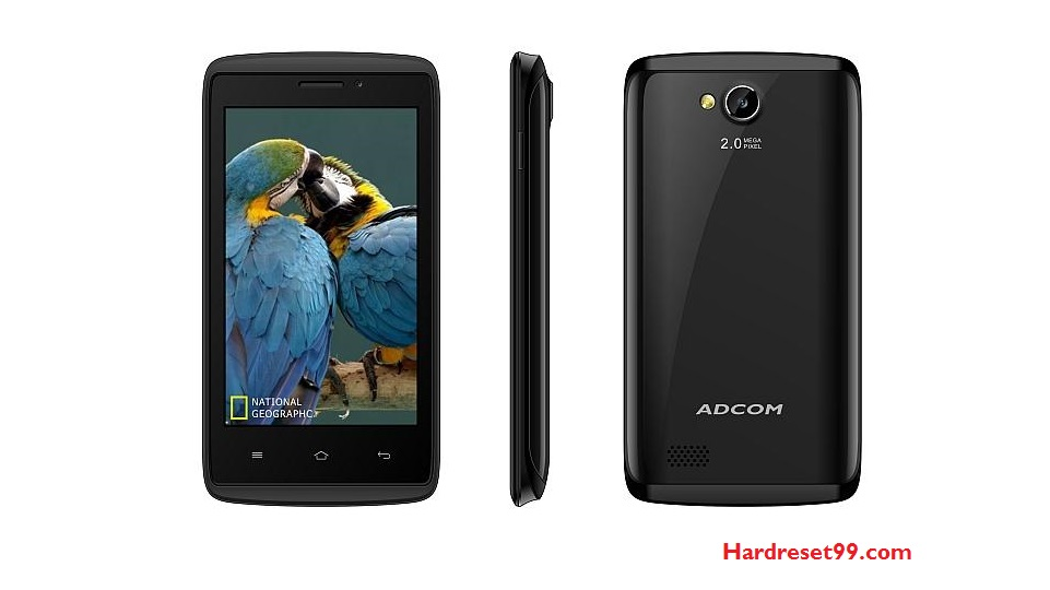 Adcom Kit Kat A54 Hard reset - How To Factory Reset