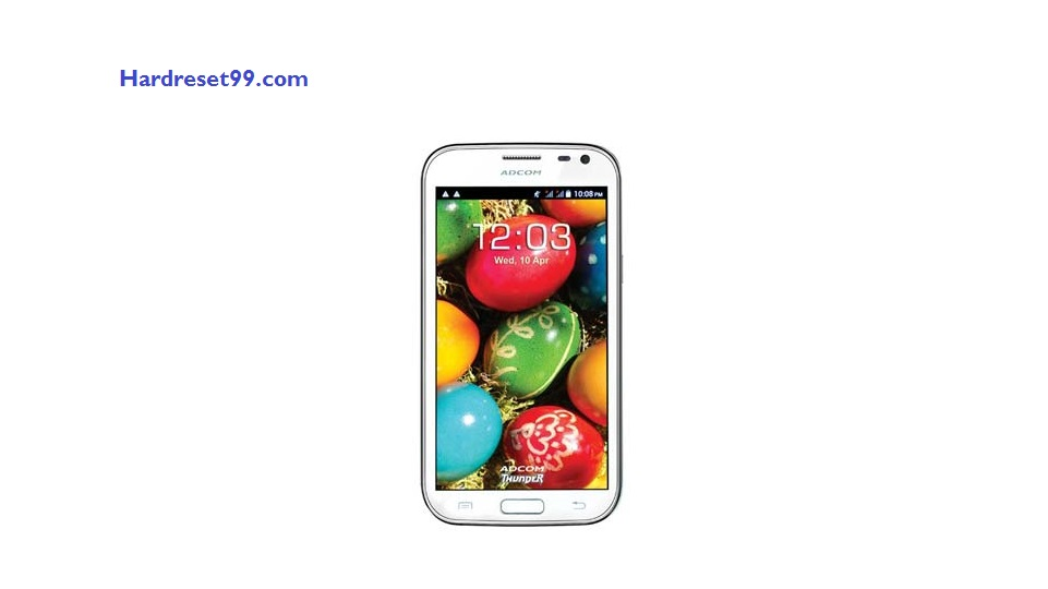 Adcom Thunder A50 Hard reset - How To Factory Reset