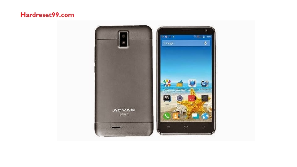 Advan Star 5 Hard reset - How To Factory Reset