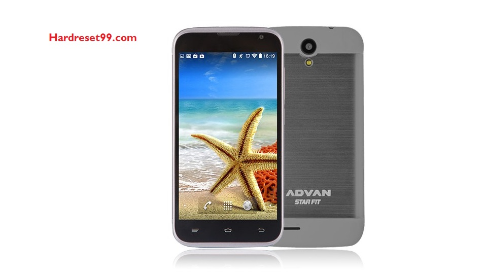 Advan Star Fit Hard reset - How To Factory Reset