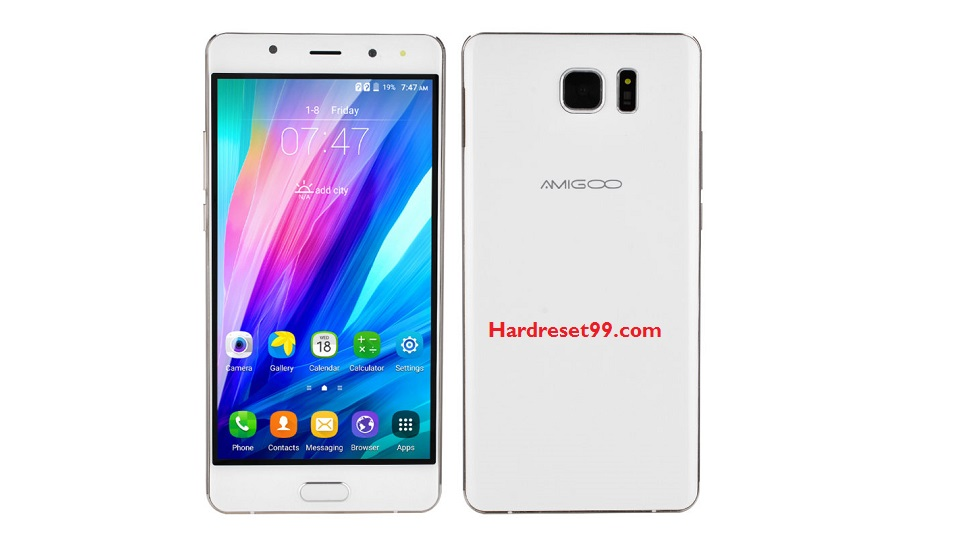 Amigoo R8 Hard reset - How To Factory Reset