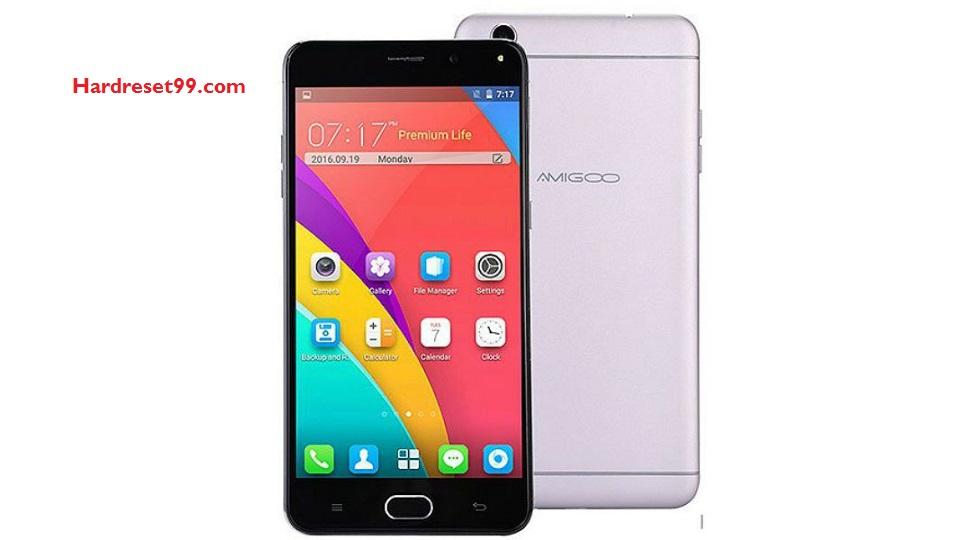 Amigoo R9 Max Hard reset - How To Factory Reset