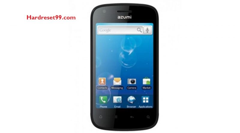 Azumi A35S Hard reset - How To Factory Reset