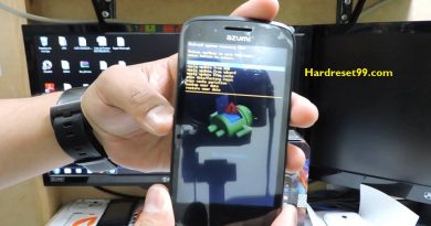 Azumi A40 Style Lite Hard reset - How To Factory Reset