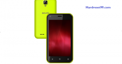 Azumi A40Q Hard reset - How To Factory Reset