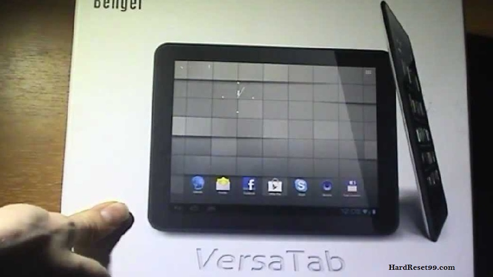 BENGER Versa Tab Hard reset - How To Factory Reset