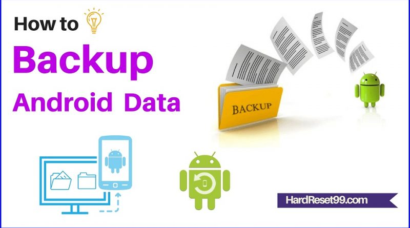How to backup android mobile data
