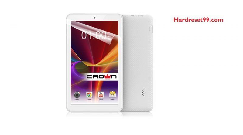 CROWN MICRO B701 Hard Reset