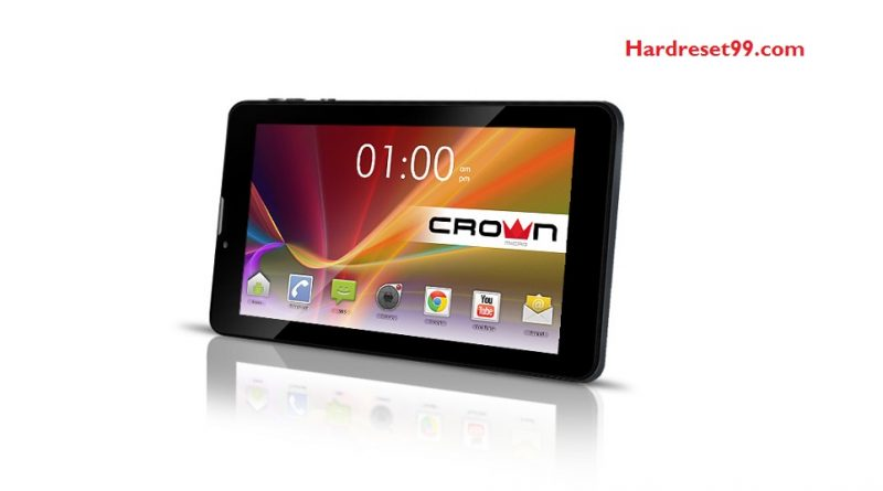 CROWN MICRO B760 Hard Reset