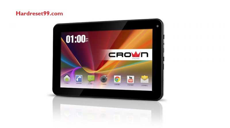 CROWN MICRO B767 Hard Reset