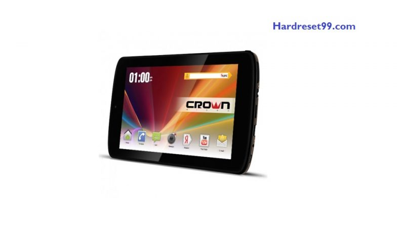 CROWN MICRO B768 Hard Reset